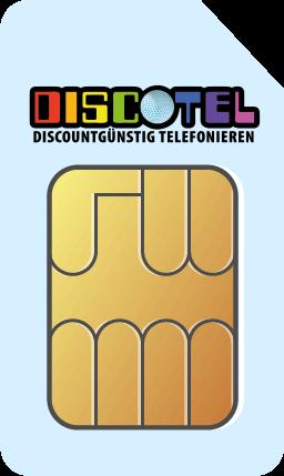 discoTEL LTE Prepaid 6 Cent + Flat M 50 MBit/s - 12,95 EUR monatlich - Vertragslaufzeit: 1 Tag