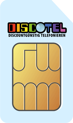 discoTEL LTE Prepaid 6 Cent + Data XL 50 MBit/s - 14,95 EUR monatlich - Vertragslaufzeit: 1 Tag
