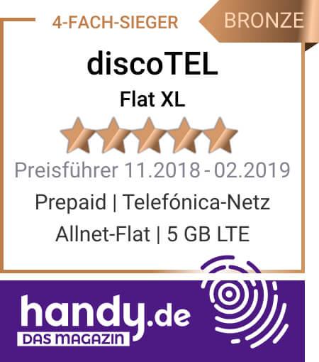 discoTEL Flat XL